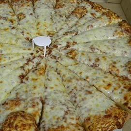 Fat Ducks Cheese And Tomato Sauce Pizza