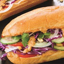Fat Ducks Vegetarian Sandwich